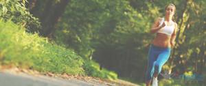 Ilustrační foto: Sportující žena.
