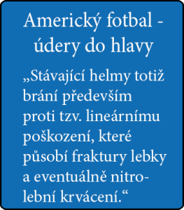 Americký fotbal - údery do hlavy , citace