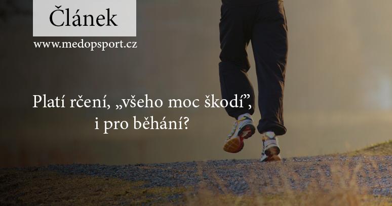 """Náhledový obrázek pro článek """"Platí rčení, """"všeho moc škodí"""", i pro běhání?"""" autor: Ernst Vikne from Skien, Norway"""