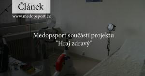 """Náhledový obrázek k projektu """"Hraj zdravý""""."""