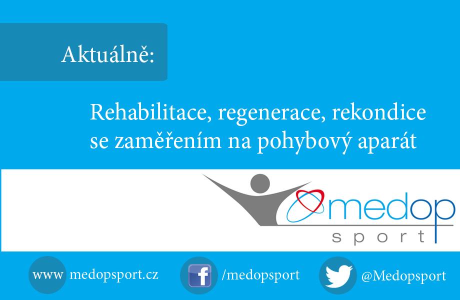 Rehabilitace, regenerace, rekondice se zaměřením na pohybový aparát
